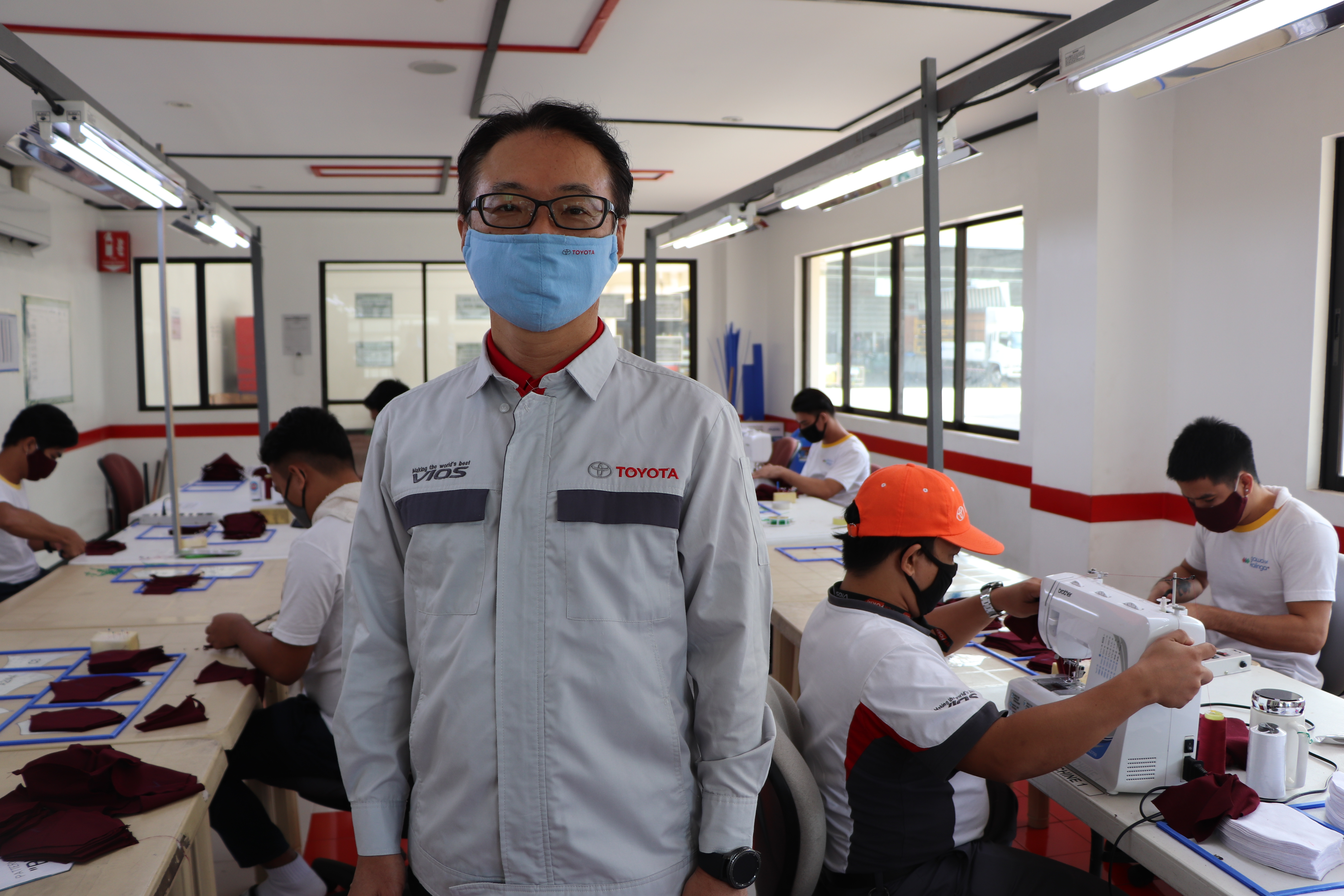 Toyota PH produces face masks, distributes to various stakeholders