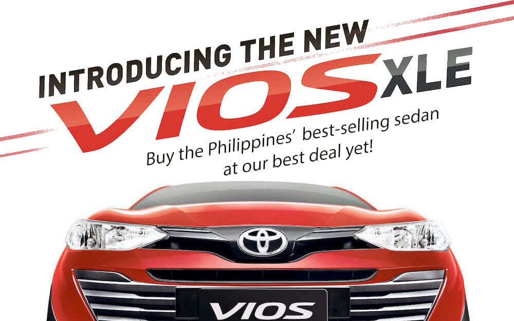 Toyota Strengthens Lineup with the New Vios XLE