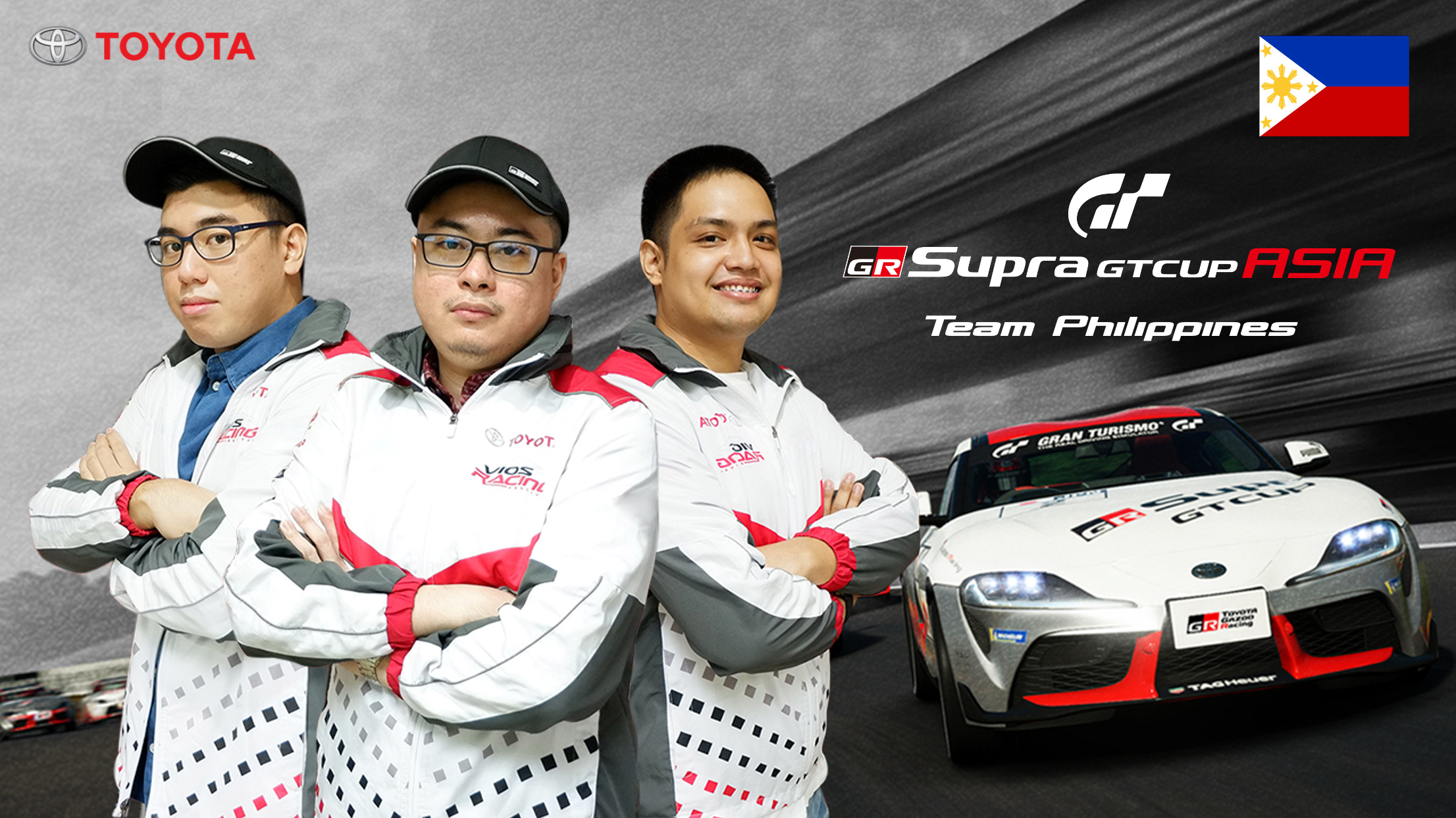Support Team Philippines at Toyota's GR Supra GT Cup Asia