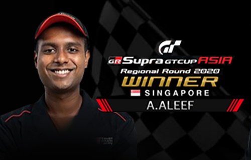 "Who came out tops in the ""GR Supra GT Cup ASIA 2020""?"