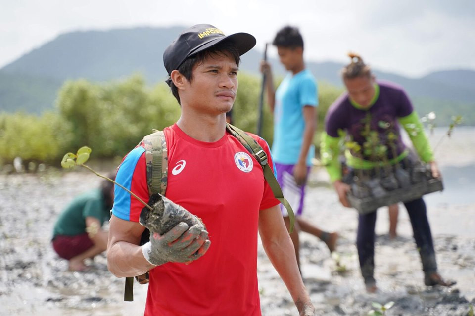 Training Continues For Ernie Gawilan Amidst Ecq