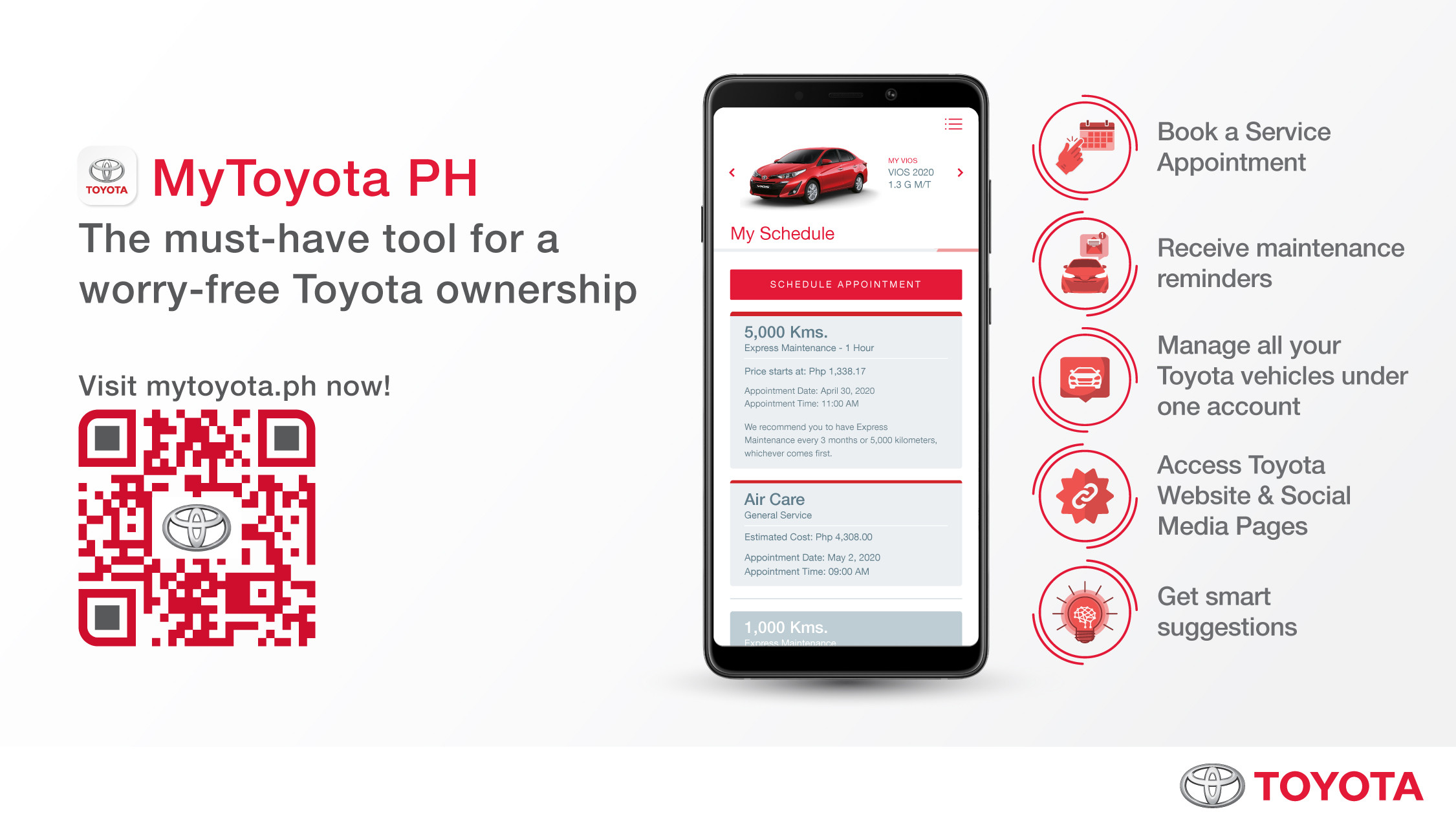 A Must-have Tool: Mytoyota Ph