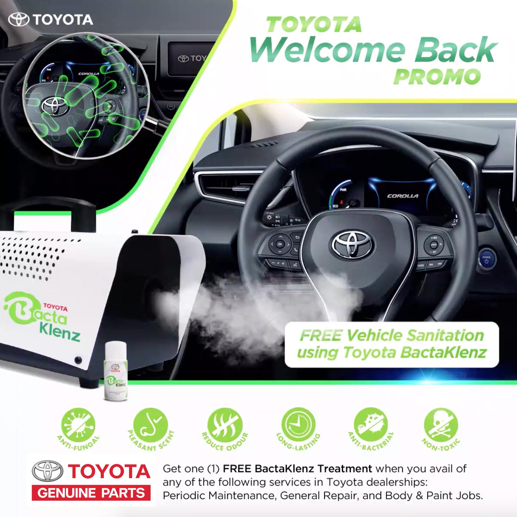 Toyota BactaKlenz