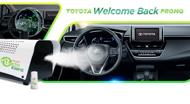 Toyota Offers Free Vehicle Interior Sanitation for Toyota Owners