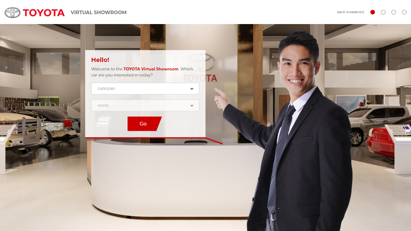 Toyota Motor Philippines makes car-buying a safer experience with its online virtual showroom