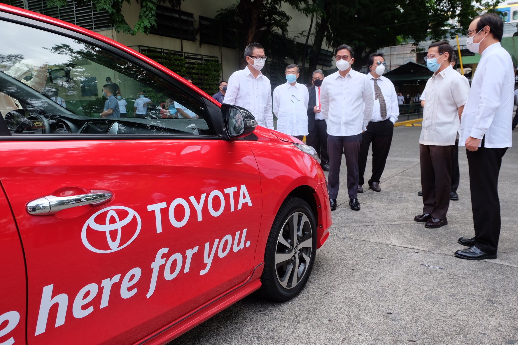Toyota PH partners with DOH in fight against COVID-19,  donates 30 Vios units to public hospitals