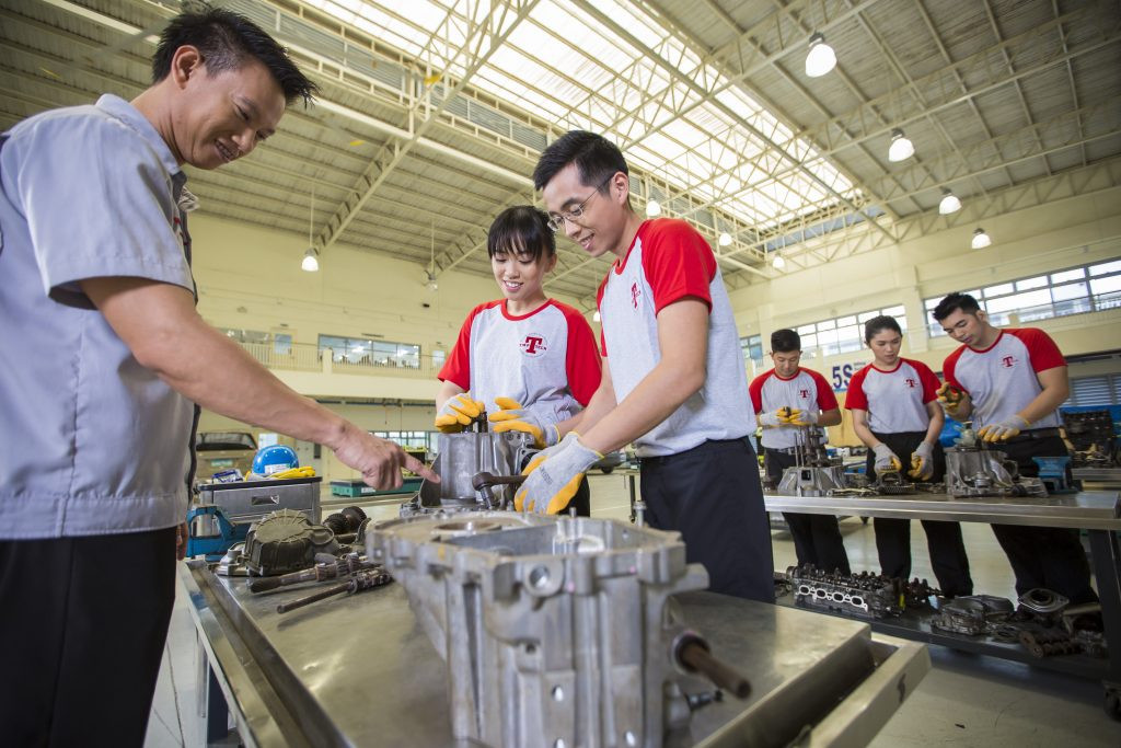 Toyota General Job Automotive Servicing Course