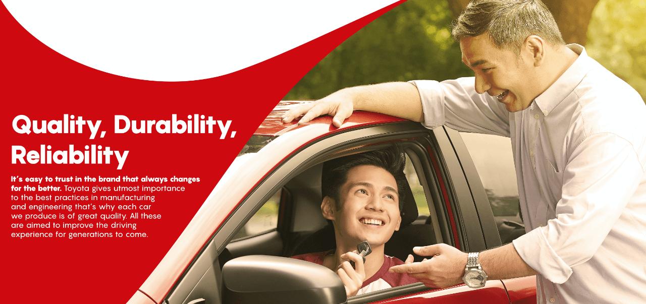 Quality Durability Reliability