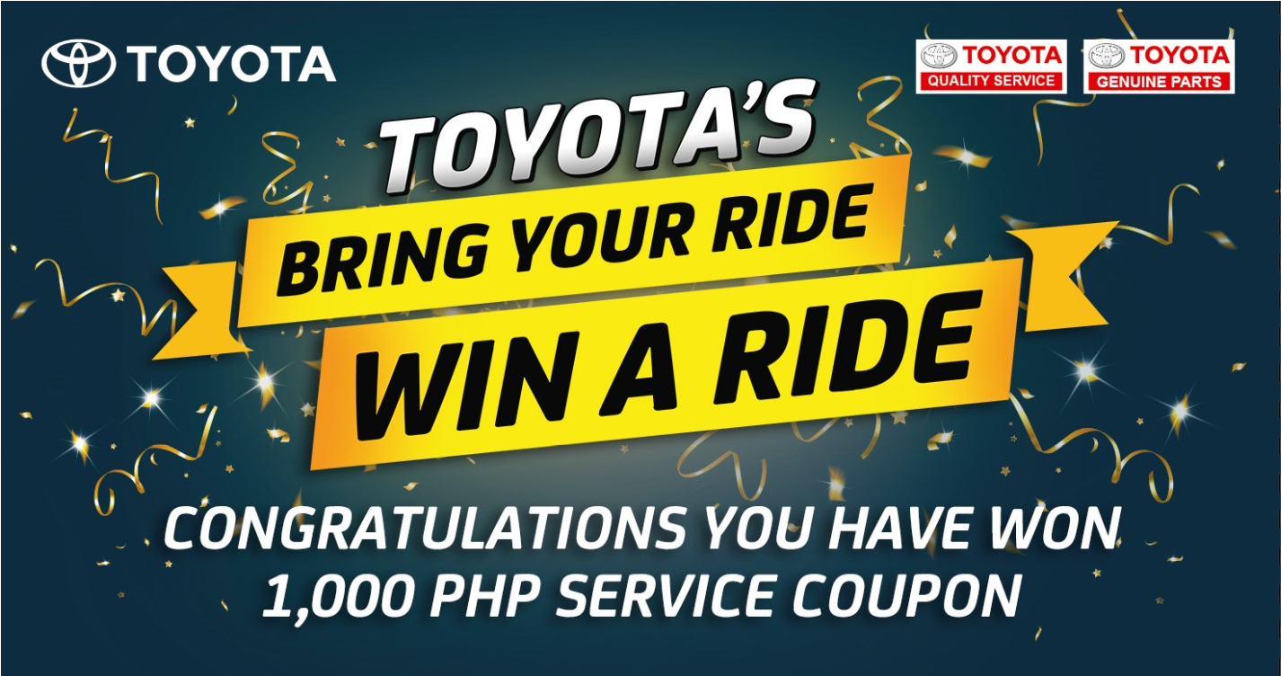 Bring your ride win a ride