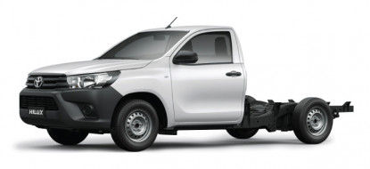Hilux 2.4 4x2 Cab & Chassis M/T