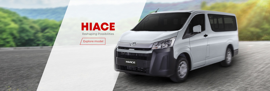 Hiace Tablet Banner