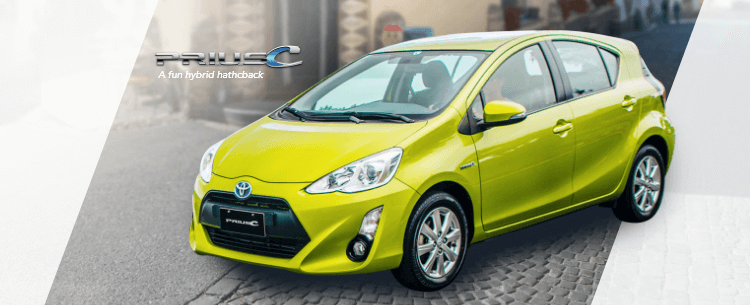 Prius C Mobile Banner