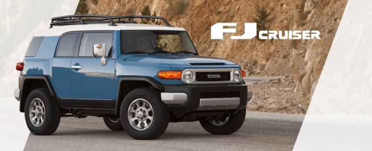 FJ Cruiser Mobile Banner